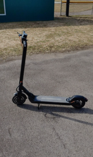 .MICROGO V2 Electric Scooter | 350W, 36V, 7.8Ah 30 km max mileage, 30 km/h max speed One-Step folding E-Scooter photo review