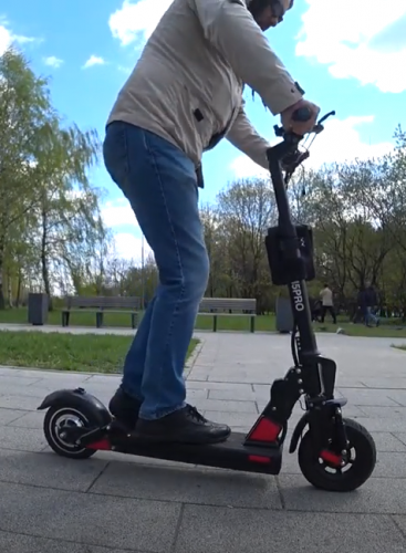 BOGIST C1 pro Electric Scooter 500w Great power, Super climbing power, waterproof, 4 major shock absorption, 45km/h, 40km Mileage photo review