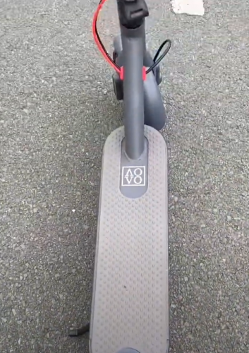 【 AOVO®M365 pro 】original electric scooter, 30km/h, 30km mileage, APP remote control secure lock, Ultra-light & folding   With charger photo review