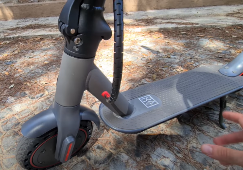 AOVO®M365 pro Original Electric Scooter   30km/h, 30km mileage, APP remote control secure lock, Ultra-light & folding【With Charger】 photo review